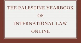 The Palestine Yearbook of International Law Online – Volume 21 (2018): Issue 1 (Jun 2020)