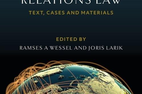 EU External Relations Law - 2nd Edition