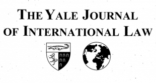 Yale Journal of International Law – Volume 45, Issue 2 (2020)