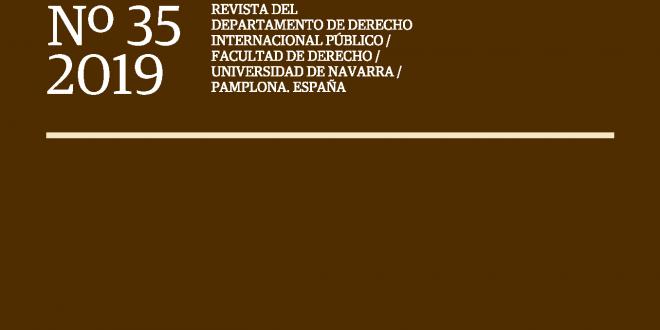 Anuario Español de Derecho Internacional - Vol. 36 (2020)
