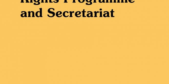 A History of the UN Human Rights Programme and Secretariat