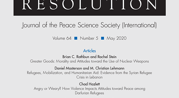 Journal of Conflict Resolution - Volume 64 Issue 5, May 2020