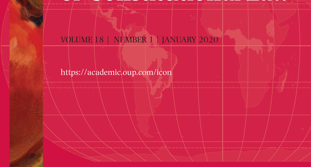 International Journal of Constitutional Law - Volume 18, Issue 1, January 2020