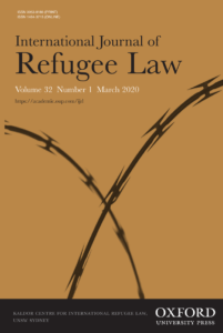 International Journal of Refugee Law - Volume 32, Issue 1, March 2020