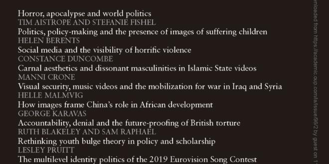 International Affairs - Volume 96, Issue 3, May 2020