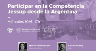 Ejercicios de práctica simulada como formas de enseñar Derecho Internacional: la competencia Philip C. Jessup en Argentina
