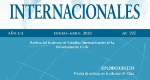 Estudios Internacionales – Vol. 52 Núm. 195 (2020): Enero-Abril