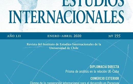 Estudios Internacionales - Vol. 52 Núm. 195 (2020): Enero-Abril