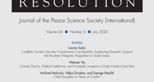 Journal of Conflict Resolution – Volume 64 Issue 6, July 2020