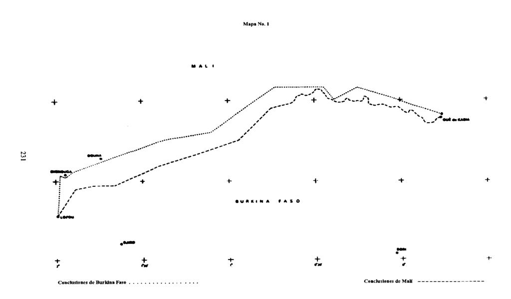 CASO RELATIVO A LA CONTROVERSIA FRONTERIZA (BURKINA FASO CONTRA LA REPÚBLICA DE MALÍ) Fallo de 22 de diciembre de 1986