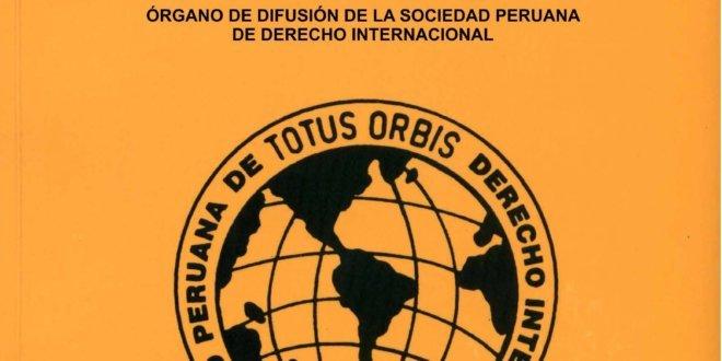 Revista Peruana de Derecho Internacional - Tomo LXX Mayo-Agosto 2020 N°165