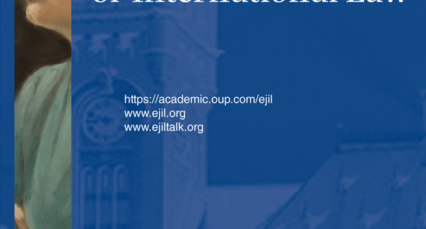 European Journal of International Law - Volume 31, Issue 1, February 2020