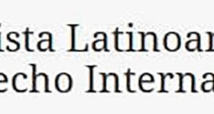 Revista Latinoamericana de Derecho Internacional (LADI) – Número 9 (2020)