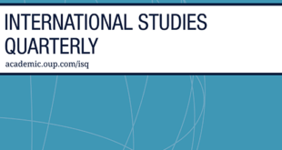 International Studies Quarterly – Volume 64, Issue 3, September 2020