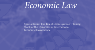 Journal of International Economic Law – Volume 23, Issue 2, June 2020
