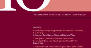 International Organization – Volume 74 – Issue 3 – Summer 2020