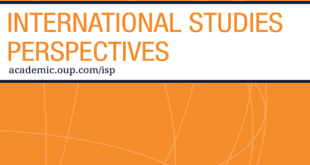 International Studies Perspectives - Volume 21, Issue 3, August 2020