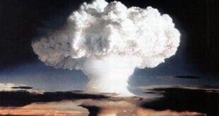 Gobierno de EEUU Ensayo nuclear realizado por Estados Unidos en Enewetak, un atolón de las Islas Marshall, el 1 de noviembre de 1952.