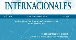 Estudios Internacionales – Vol. 52 Núm. 196 (2020): Mayo-Agosto