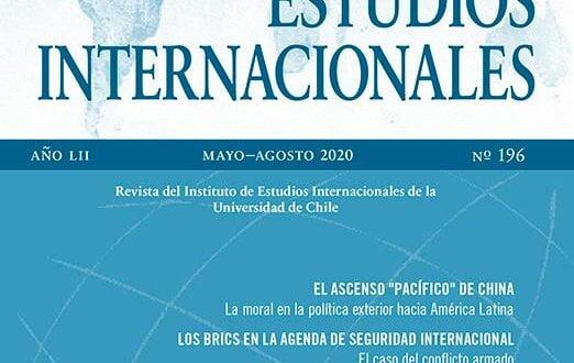 Estudios Internacionales - Vol. 52 Núm. 196 (2020): Mayo-Agosto