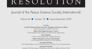 Journal of Conflict Resolution - Volume 64 Issue 7-8, August-September 2020