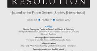 Journal of Conflict Resolution - Volume 64 Issue 9, October 2020