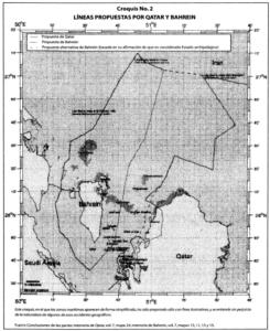 DELIMITACIÓN MARÍTIMA Y CUESTIONES TERRITORIALES ENTRE QATAR Y BAHREIN (QATAR CONTRA BAHREIN) (CUESTIONES DE FONDO) Fallo de 16 de marzo de 2001