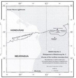 CONTROVERSIA TERRITORIAL Y MARÍTIMA ENTRE NICARAGUA Y HONDURAS EN EL MAR DEL CARIBE (NICARAGUA contra HONDURAS) Fallo de 8 de octubre 2007