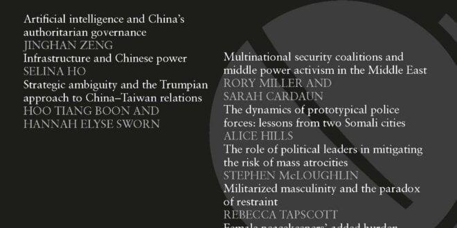 International Affairs - Volume 96, Issue 6, November 2020