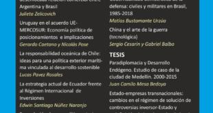 Revista Relaciones Internacionales – Vol. 29 Núm. 59 (2020)