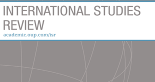 International Studies Review – Volume 22, Issue 4, December 2020
