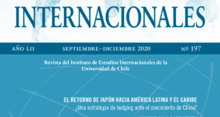 Estudios Internacionales - Vol. 52 Núm. 197 (2020): Septiembre-Diciembre