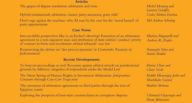 Arbitration International - Volume 36, Issue 4, December 2020
