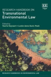 Research Handbook on Transnational Environmental Law