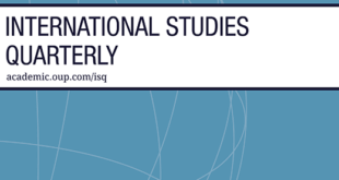 International Studies Quarterly – Volume 64, Issue 4, December 2020