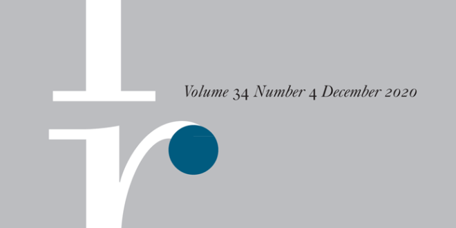 International Relations - Volume 34 Issue 4, December 2020