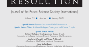 Journal of Conflict Resolution – Volume 65 Issue 1, January 2021