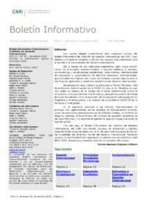 CARI - Boletín informativo del Instituto de Derecho Internacional