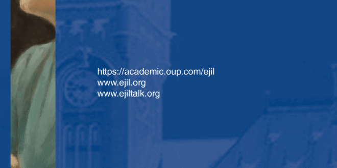 European Journal of International Law - Volume 31, Issue 3, August 2020
