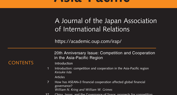 International Relations of the Asia-Pacific - Volume 21, Issue 1, January 2021