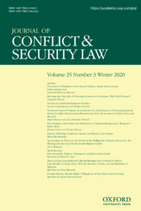 Journal of Conflict & Security Law