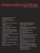 International Affairs - Volume 97, Issue 2, March 2021