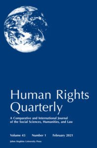 Human Rights Quarterly - Volume 43, Number 1, February 2021