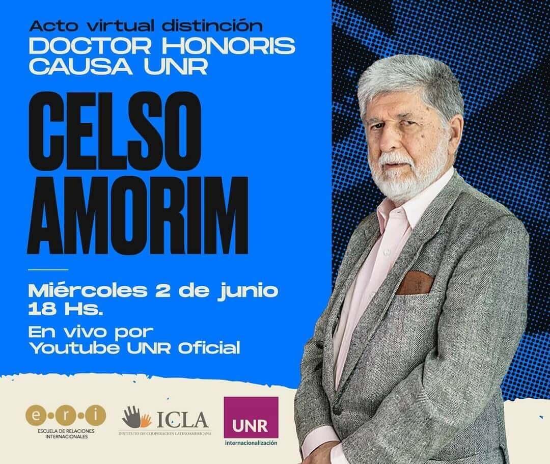 Doctor Honoris Causa UNR - Celso Amorim