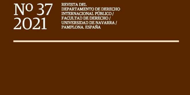 Anuario Español de Derecho Internacional - Vol. 37 (2021)