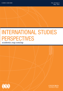 International Studies Perspectives - Volume 22, Issue 2, May 2021