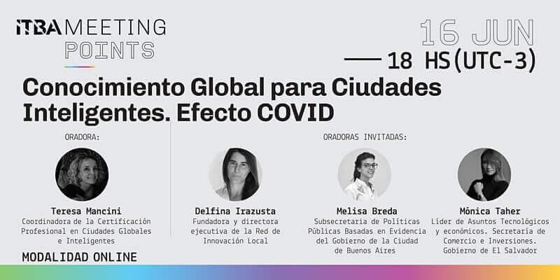 Conocimiento Global para Ciudades Inteligentes. Efecto COVID