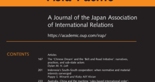 International Relations of the Asia-Pacific – Volume 21, Issue 2, May 2021