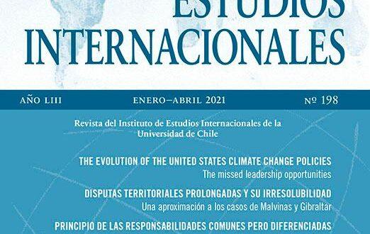 Estudios Internacionales - Vol. 53 Núm. 198 (2021): Enero-Abril