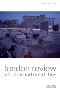 London Review of International Law - Volume 8, Issue 3, November 2020